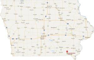 Lacey Keosaqua Map