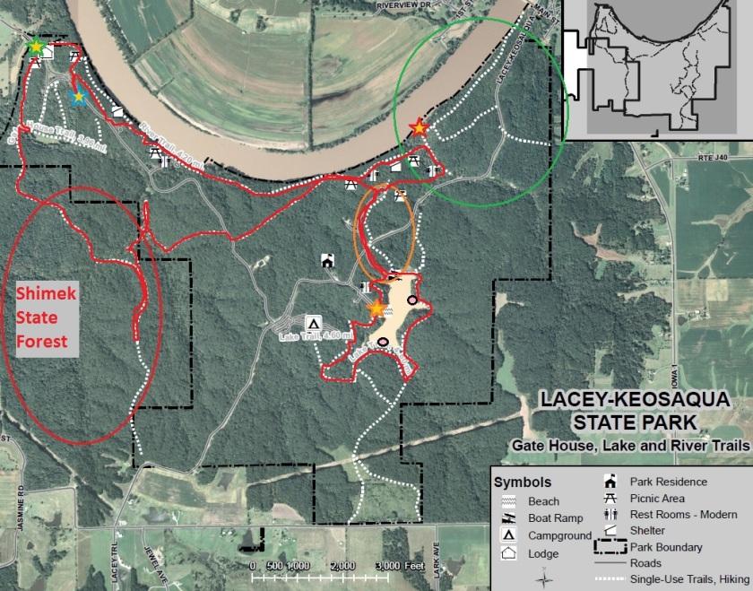 Lacey Keosaqua Trail Map 2