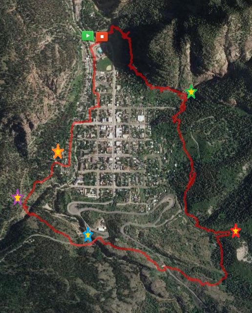 Ouray Route