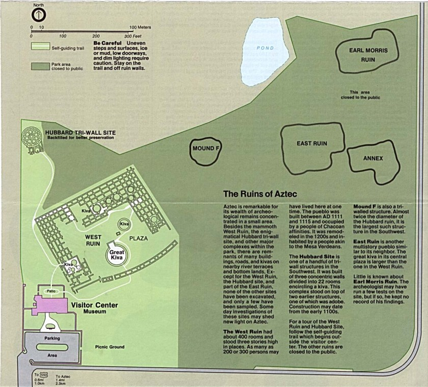 Aztec_Ruins_National_Monument_NPS_site_map