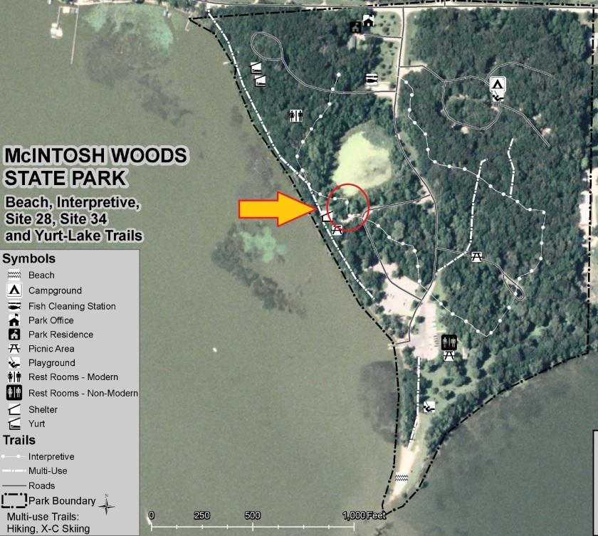 McIntosh Trail Map 2